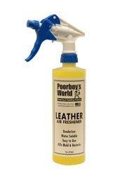 Poorboy's World Leather 473ml odświeżacz powietrza o zapachu skóry