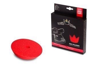 Royal Pads AIR Soft Pad for DA 80mm  czerwony, miękki pad dedykowany dla maszyn DA